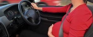 Viajar embarazada en coche