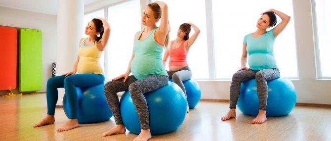 Imagen: Sesiones grupales de preparación al parto